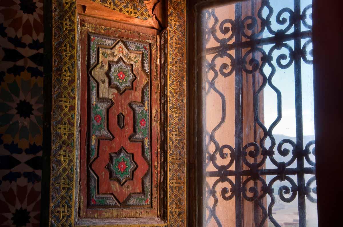 Telouet Kasbah window