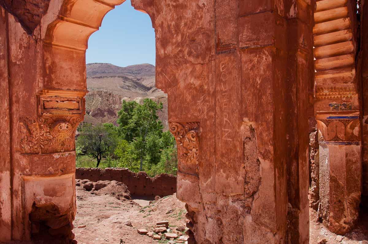 Telouet Kasbah ruin