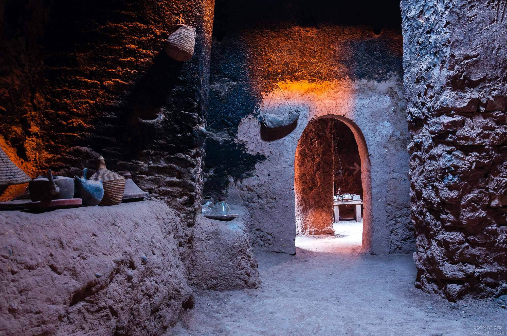 inside Ksar Ait Ben Haddou