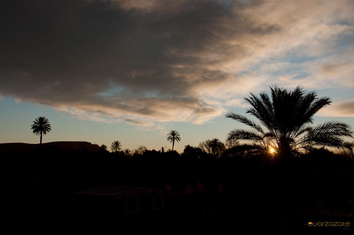 Sunrise Skoura oasis, Ouarzazate