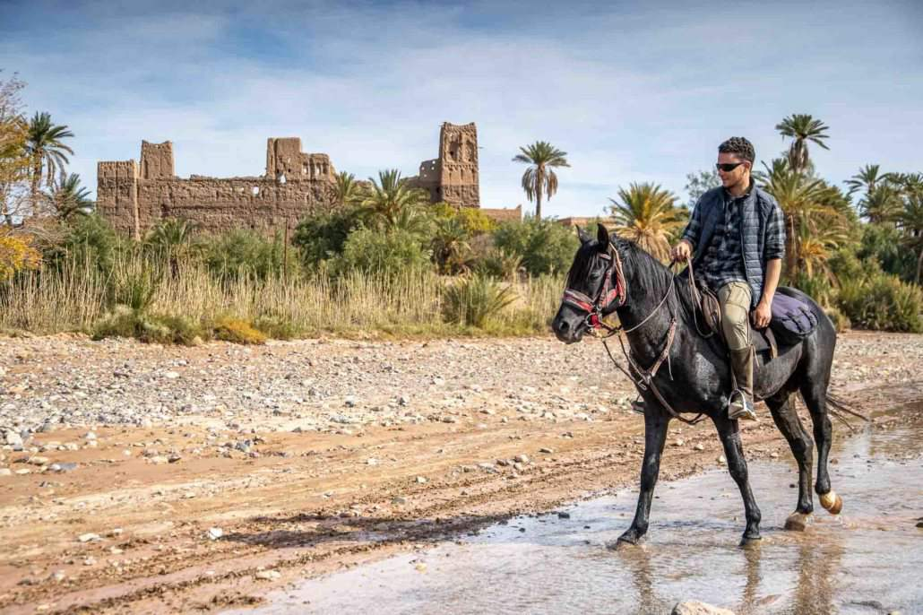 Horse riding in Skoura