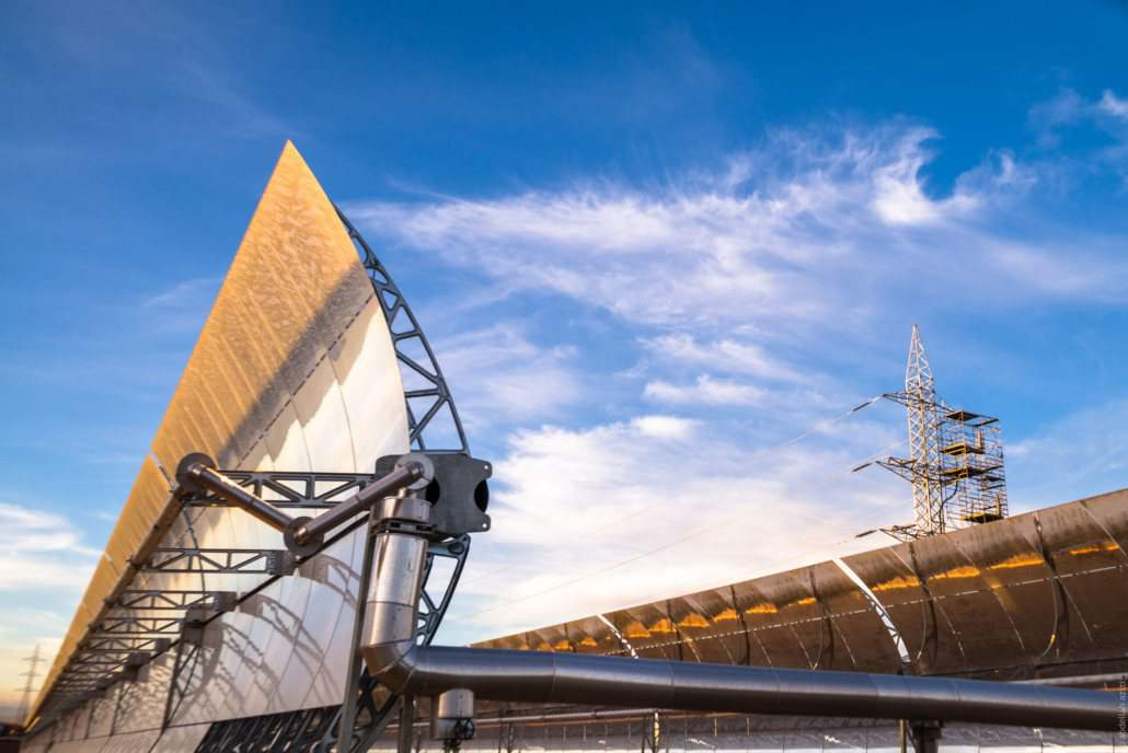 Inside the world's largest concentrated solar power station