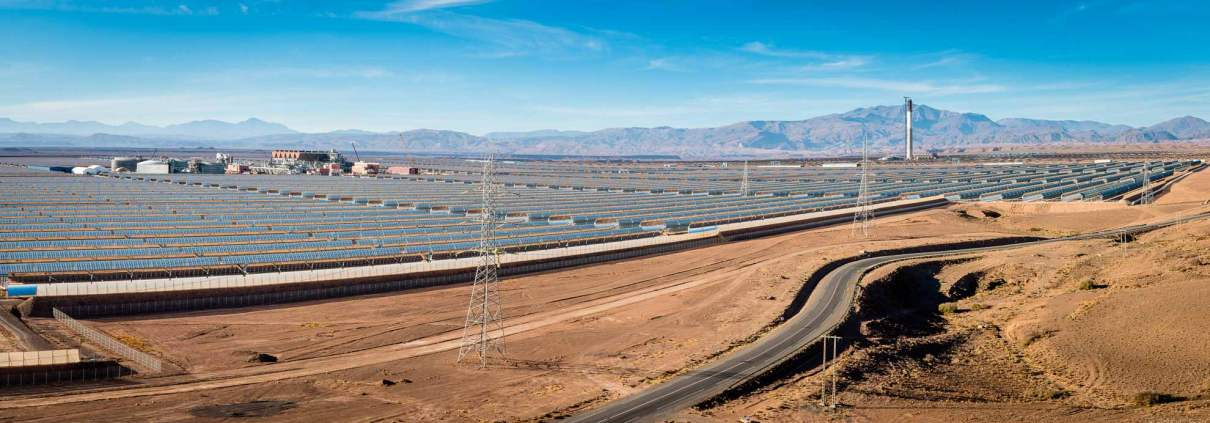 Noor Ouarzazate Solar power station