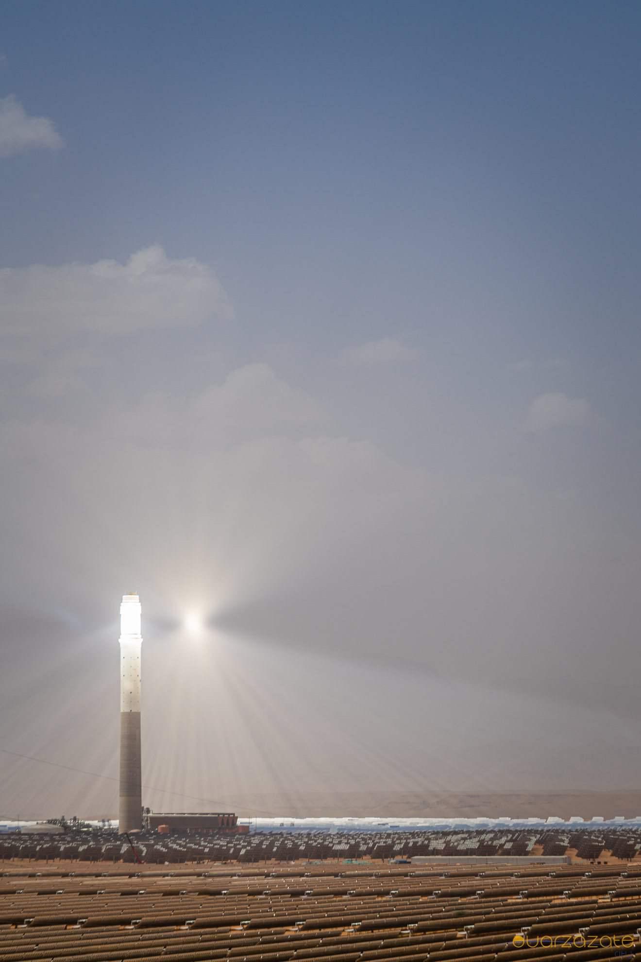 Tower of Ouarzazate solar power station