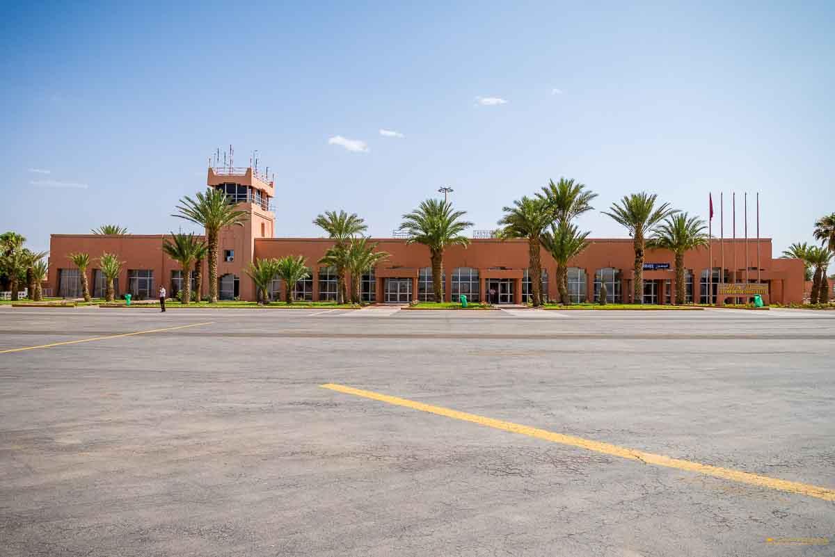 Airport Ouarzazate runway