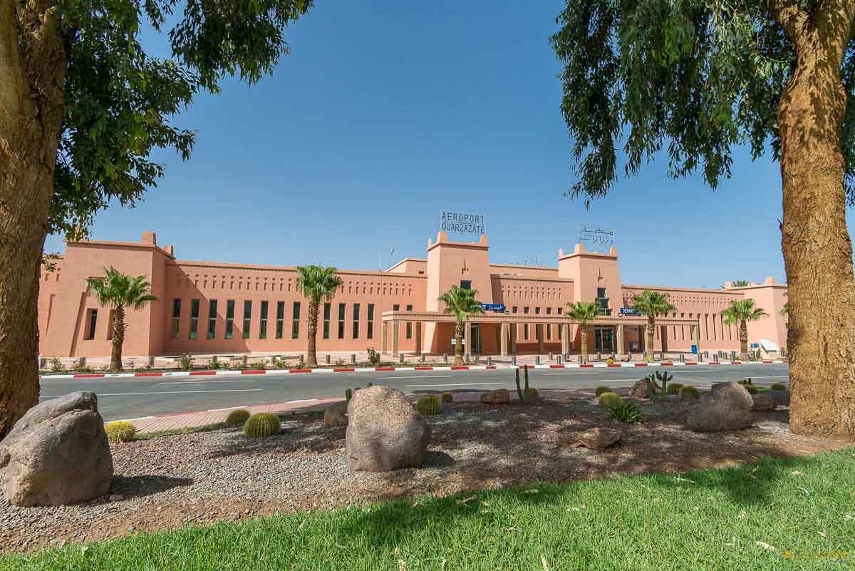 Airport Ouarzazate Arrival